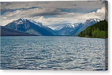 Lake Mcdonald Upon Storm Clearing Canvas Print