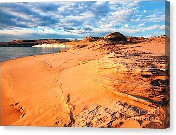 Lake Powell Serenity Canvas Print by Thomas R Fletcher