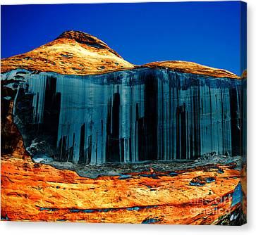 Arizonia Canvas Print - Lake Powell Stripe by Rebecca Margraf