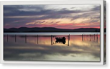 Lake Rgb 01 Canvas Print by Kevin Chippindall