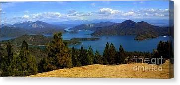 Lake Shasta Canvas Print by Garnett  Jaeger