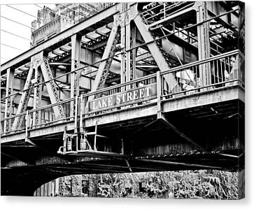 Lake Street Bridge Canvas Print