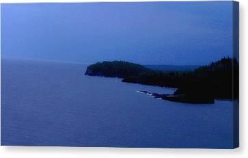 Lake Superior Canvas Print by Shweta Singh