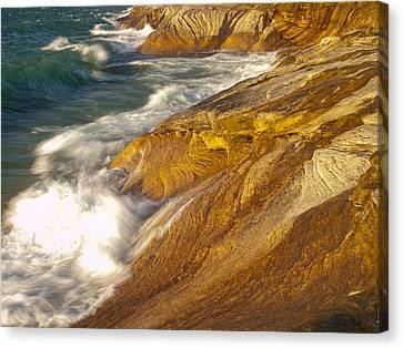 Lake Superiors Fury Canvas Print