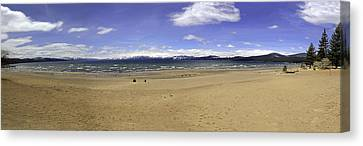 Canvas Print featuring the photograph Lake Tahoe by Paul Plaine