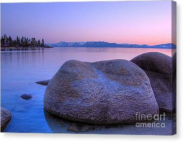 Lake Tahoe Sunset Canvas Print by Scott McGuire