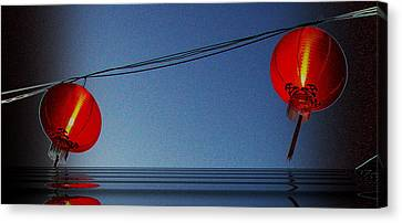 Lampion Canvas Print