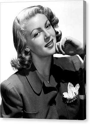 Lana Turner, 1940s Canvas Print by Everett