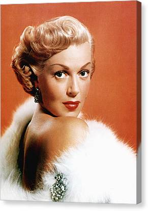 Lana Turner, 1950s Canvas Print by Everett