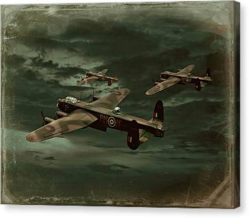 Lancaster Mission Canvas Print by Steven Agius