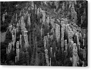 Canvas Print featuring the photograph Land Of Standing Up Rock  by Vicki Pelham