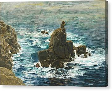 Land's End Canvas Print by John Brett