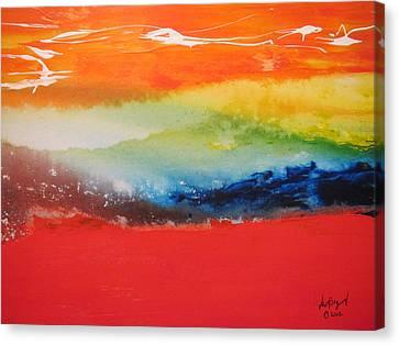 Landscape 3 2012 Canvas Print