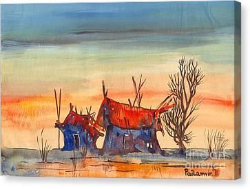 Landscape 5 Canvas Print by Padamvir Singh