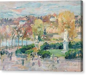 Landscape In Tours Canvas Print by Berthe Morisot