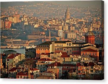 Landscape, Istanbul Canvas Print by Photo by Bernardo Ricci Armani