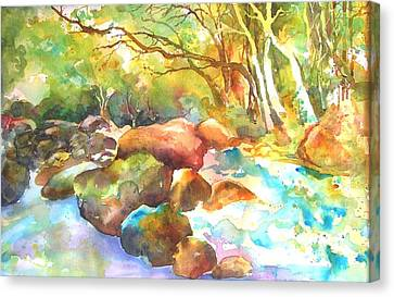Landscape Kaleidoscope Canvas Print