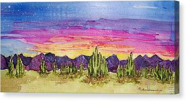 Landscape Canvas Print by Regina Ammerman