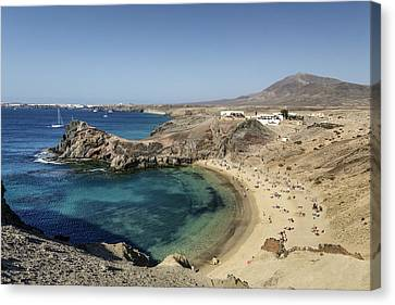 Lanzarote , Canvas Print by Travelstock44 - Juergen Held