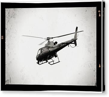 Emulsion Canvas Print - Lapd by Ricky Barnard