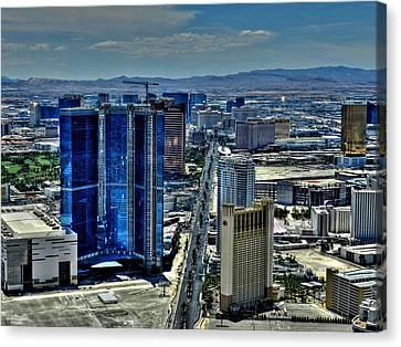 Las Vegas 013 Canvas Print by Lance Vaughn