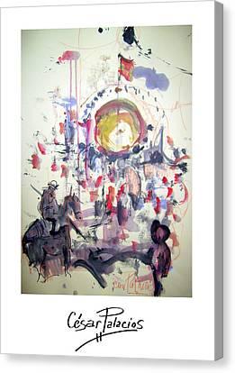 Las Ventas I Canvas Print