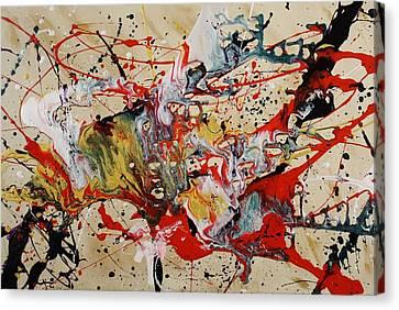 Lassoed A Tornado Canvas Print by Nan Bilden