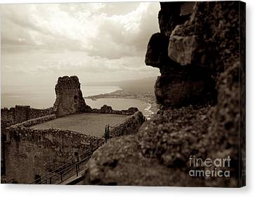 Last Greek Vestige 2 Canvas Print