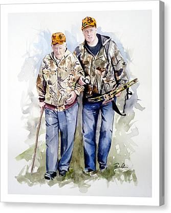 Last Hunt Canvas Print by Dana  Bellis