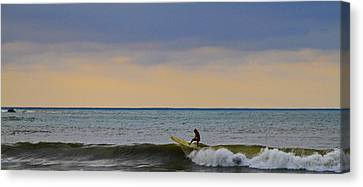 Last Ride Canvas Print by Atom Crawford