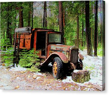 Canvas Print featuring the photograph Last Stop by Irina Hays