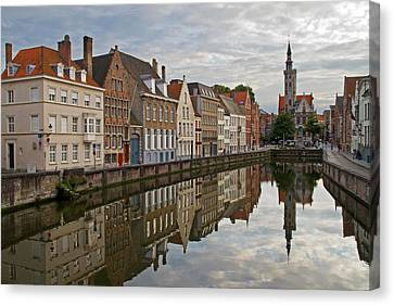 Late Afternoon Reflections Canvas Print