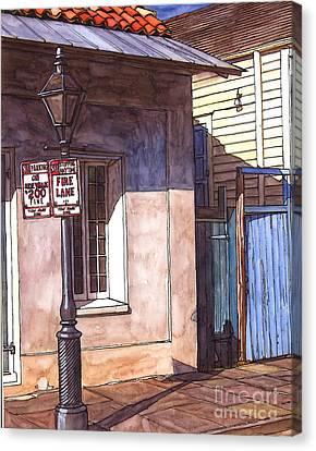 Late Evening Shadow Canvas Print by John Boles