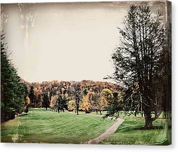 Late Fall In Waynesville Canvas Print