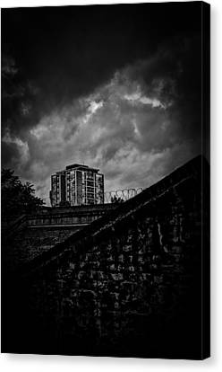 Late Night Brixton Skyline Canvas Print by Lenny Carter
