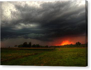 Late Summer Storm Canvas Print