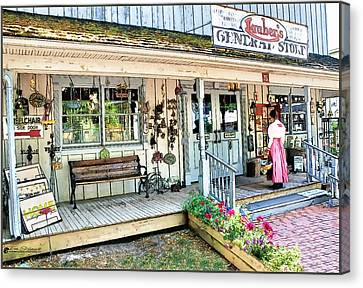 Lauber's General Store Canvas Print by Tom Schmidt