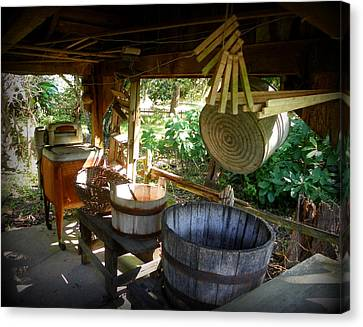 Laundry Shed I Canvas Print