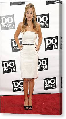 Lauren Conrad At Arrivals For The Do Canvas Print by Everett