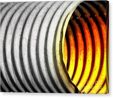 Lava Tube Canvas Print by Joe Jake Pratt