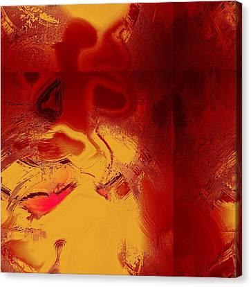 Lava Canvas Print by Yanni Theodorou