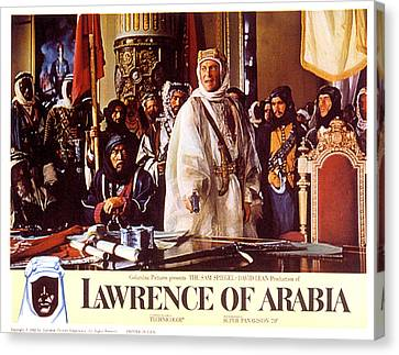 Lawrence Of Arabia, Anthony Quinn Canvas Print by Everett