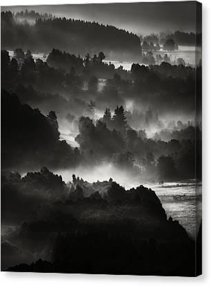 Layers Canvas Print by Jaromir Hron