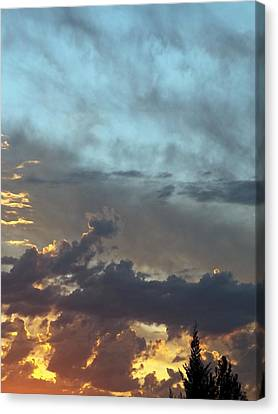 Layers Of Dusk Canvas Print by Glenn McCarthy Art and Photography