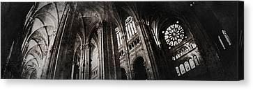 Le Arch  Canvas Print by Torgeir Ensrud