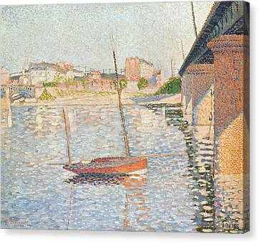 Le Clipper - Asnieres Canvas Print