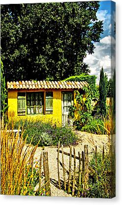 Le Jardin De Vincent Canvas Print by Chris Thaxter