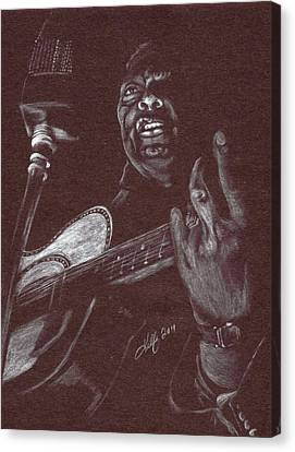 Leadbelly Canvas Print by Kathleen Kelly Thompson
