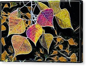 Leaves Canvas Print by Judi Bagwell