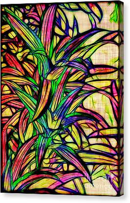 Leaves Of Imagination Canvas Print by Judi Bagwell